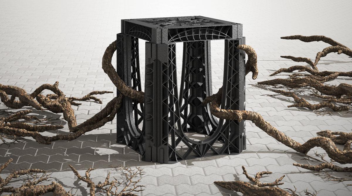 Kunststoff in den Boden einbauen?