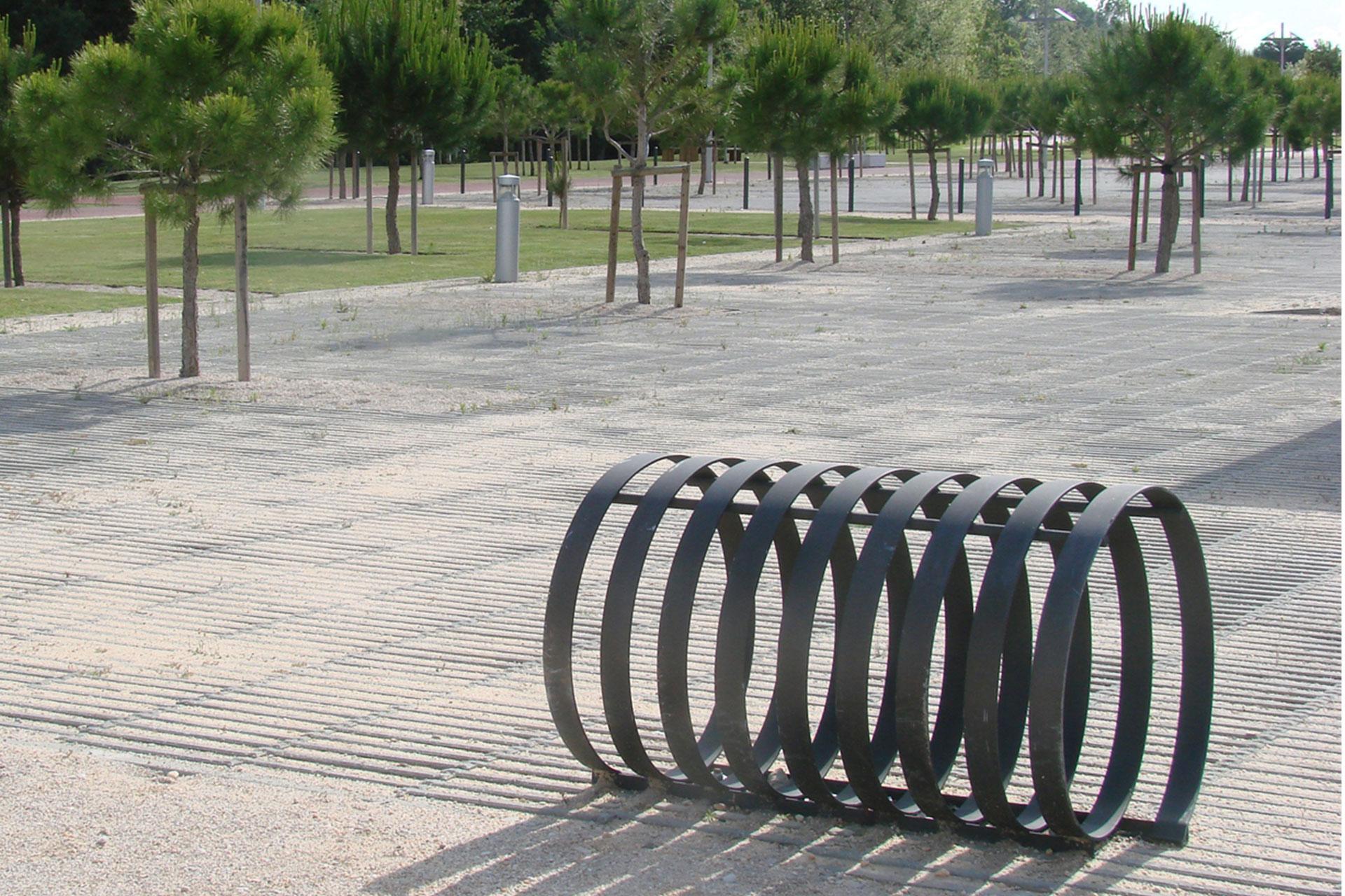 UrbanObjekts Continuo Fahrradständer