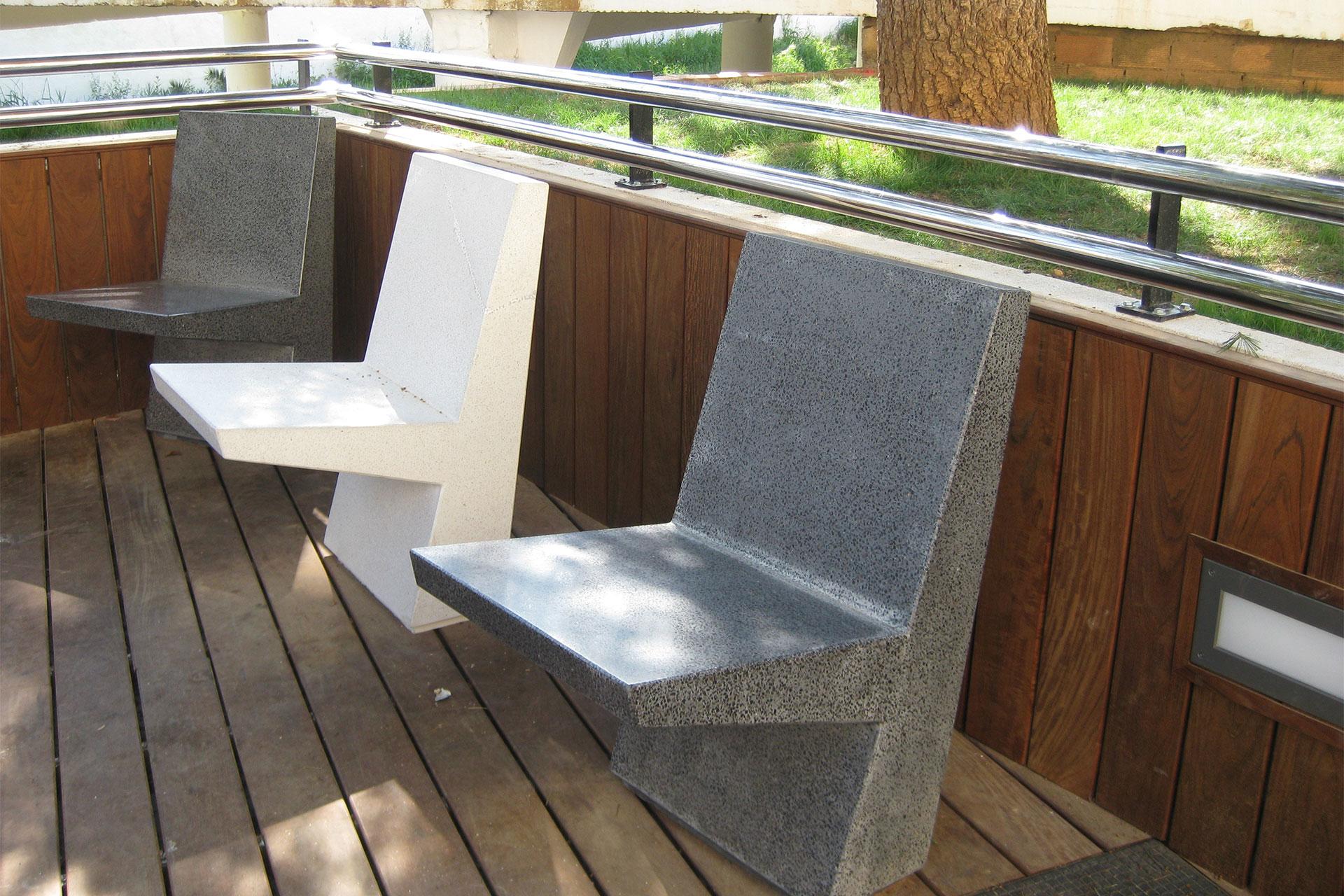 UrbanObjekts K3 Sitzgelegenheit