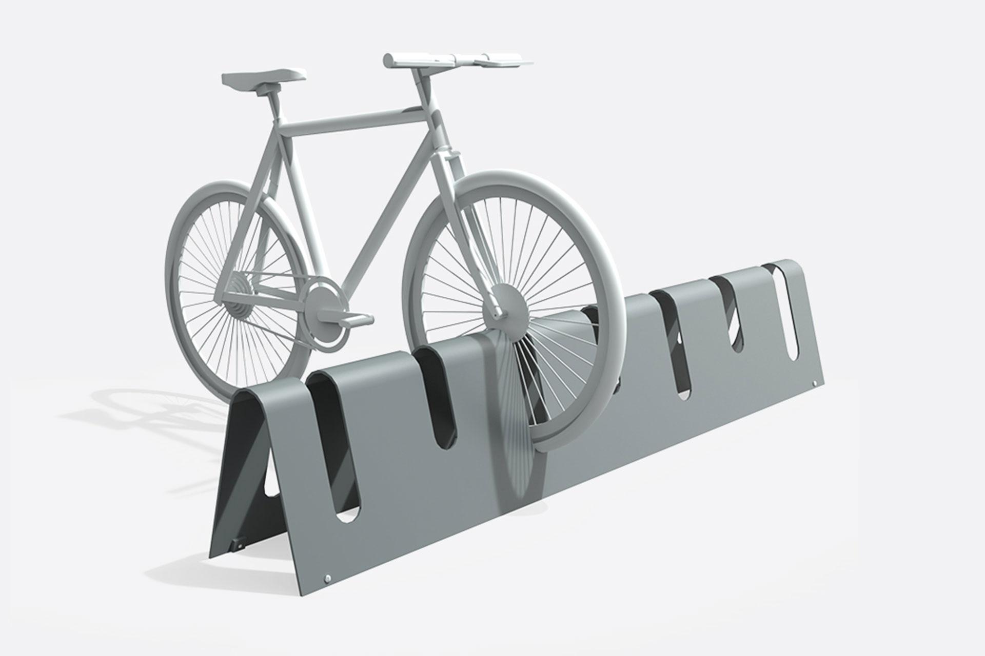 UrbanObjekts Lotus Fahrradständer