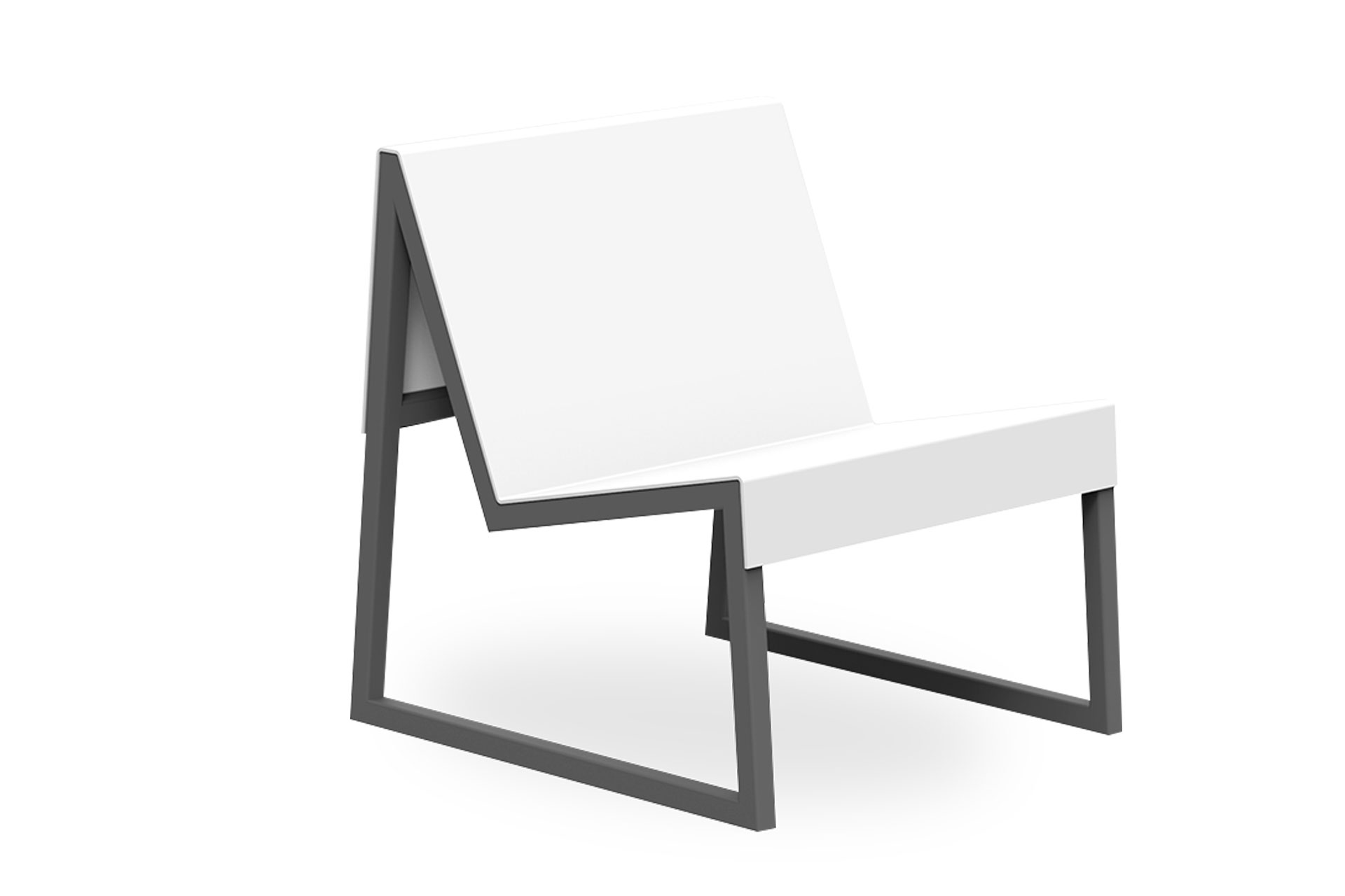 UrbanObjekts Spatule Sitzgelegenheit