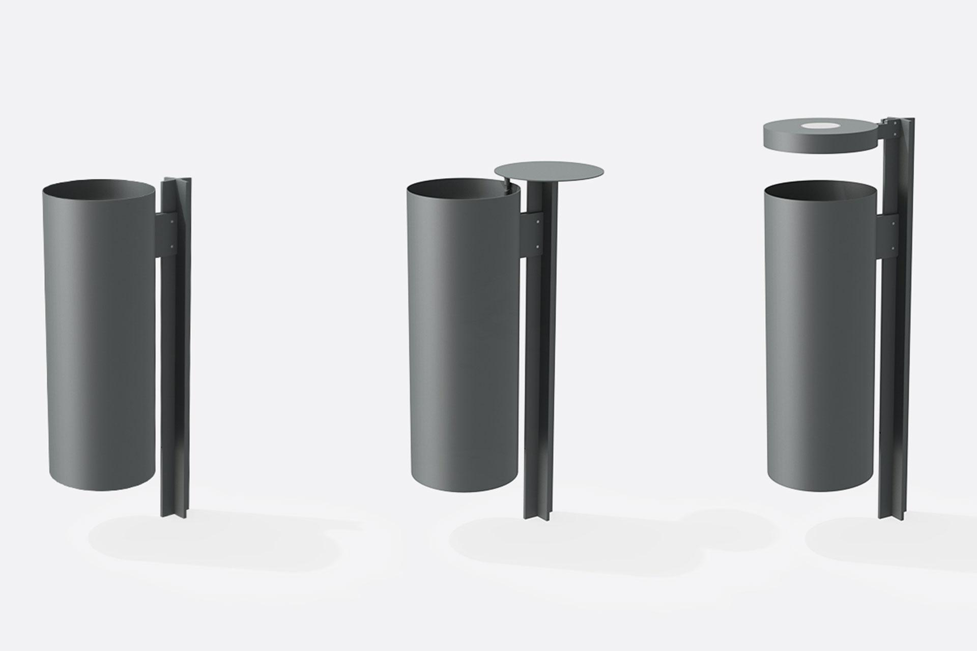 UrbanObjekts Plus Abfallbehälter