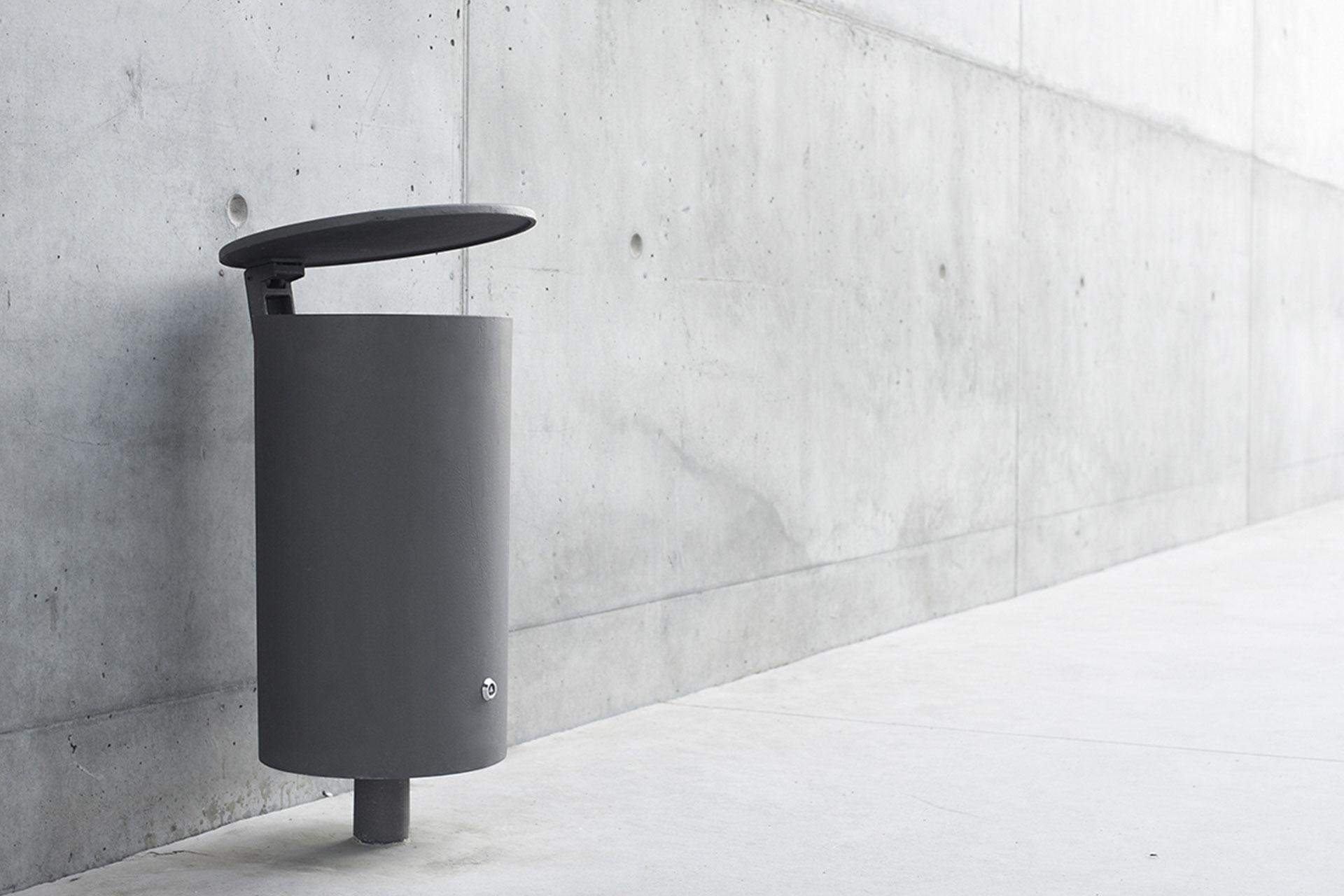 UrbanObjekts Point Abfallbehälter