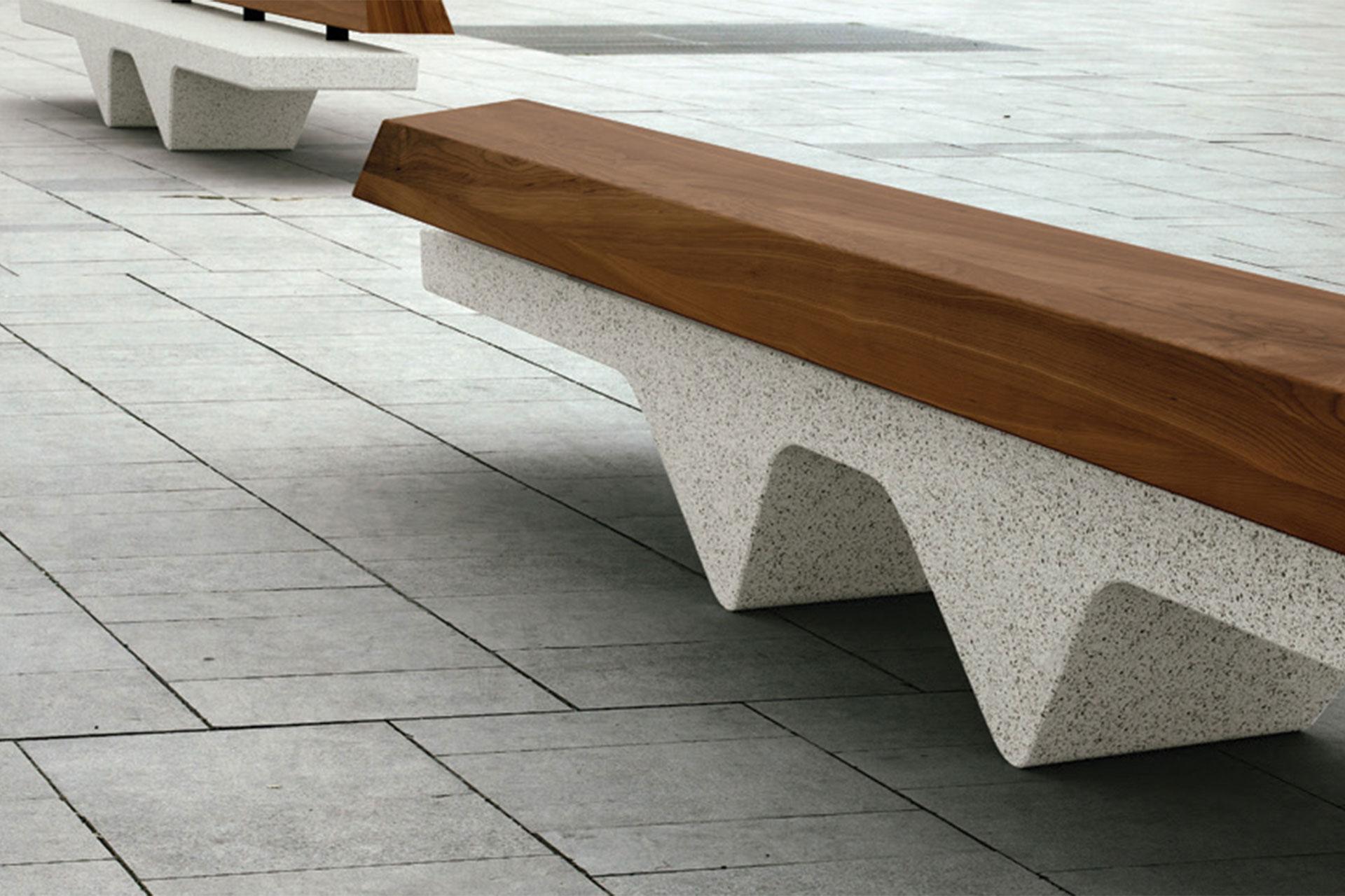 UrbanObjekts Ripple Sitzgelegenheit