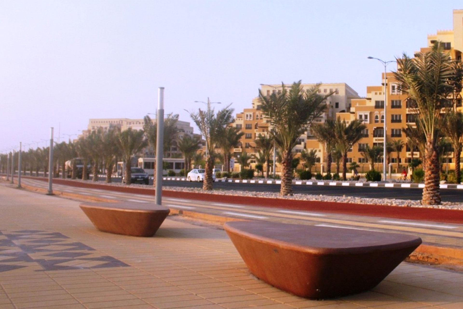 UrbanObjekts Sassi Sitzgelegenheit