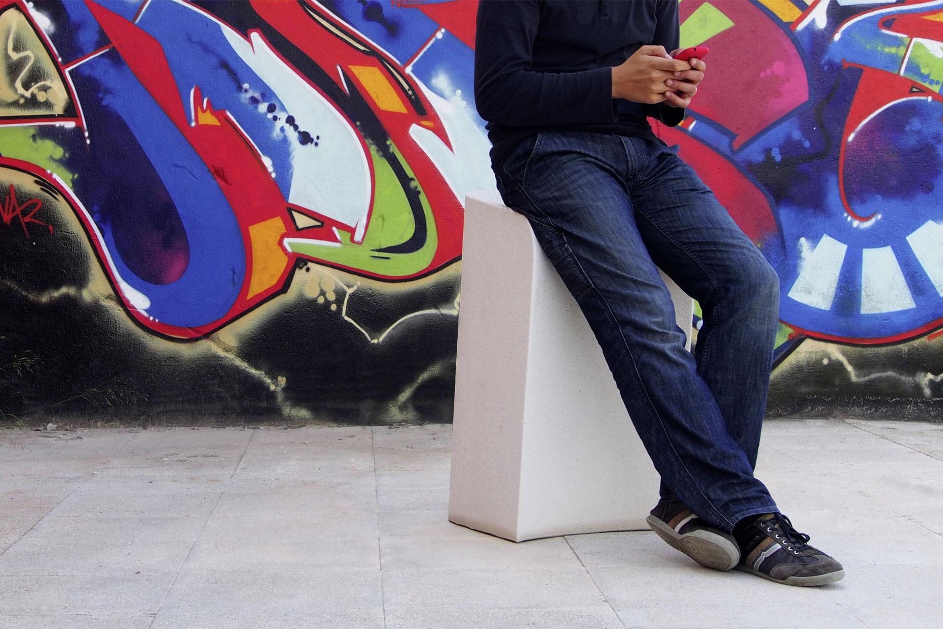 UrbanObjekts Sit-up Sitzgelegenheit