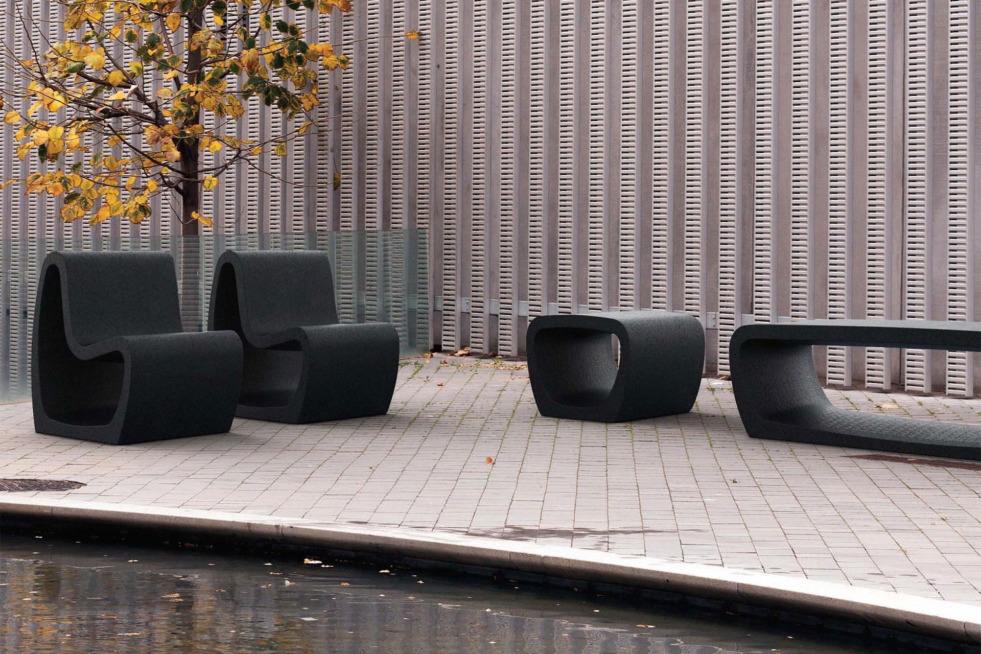 UrbanObjekts Tube Sitzgelegenheiten