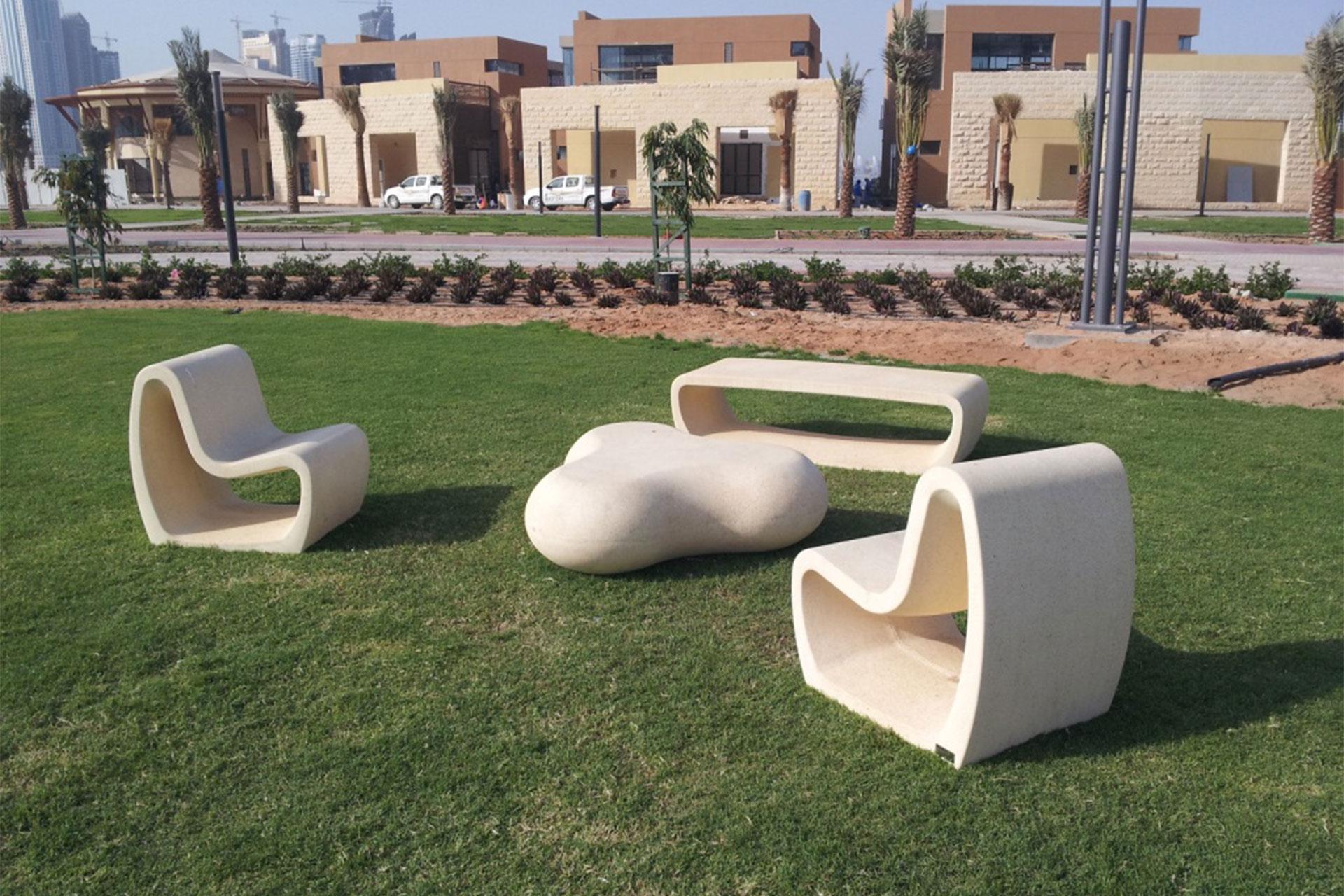 UrbanObjekts Tube Sitzgelegenheit