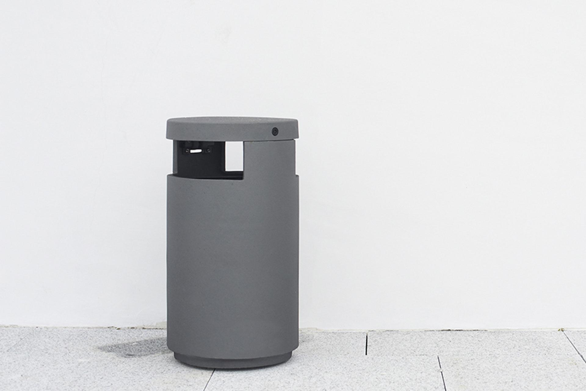 UrbanObjekts Urbus Abfallbehälter